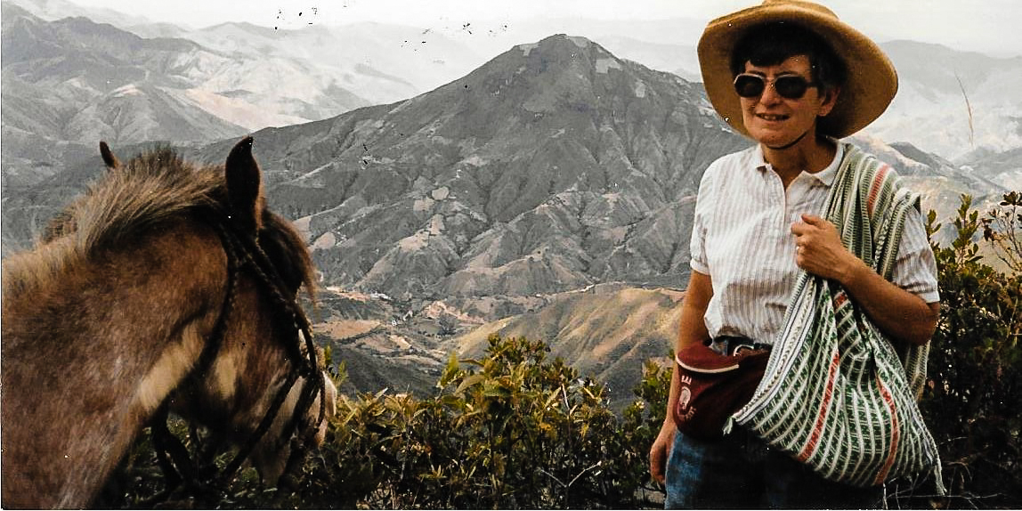 Some of the 94 villages where Sister Patricia served in Peru were so remote that they could only be reached by a 14-hour mule ride. Photo courtesy of Sister Patricia Pora.